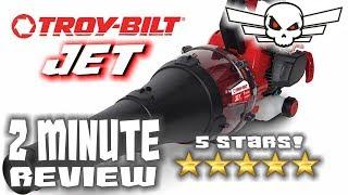 Troy-Bilt TB2MB JET - 2 Minute Review - 2MR - Tony D