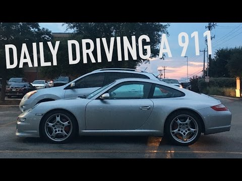 What It's Like Daily Driving A Porsche 911