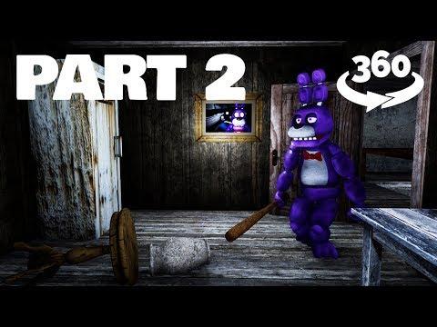 360 Video    Granny is Bonnie VR - Part 2