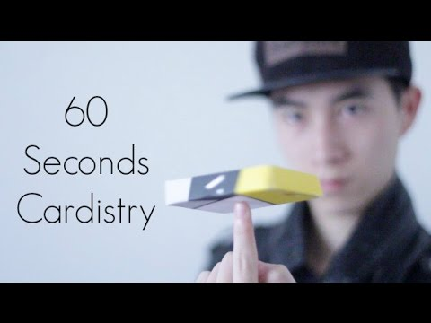 60 Seconds Cardistry | Kevin Yu