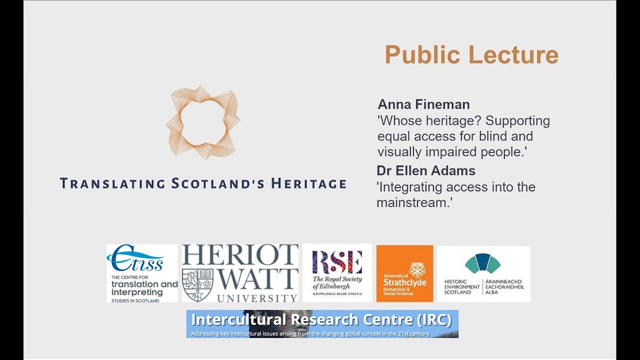 Accessing Heritage - public lecture