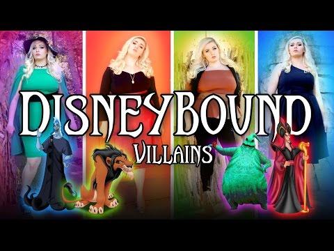 DisneyBound Villains Lookbook / Heather Traska
