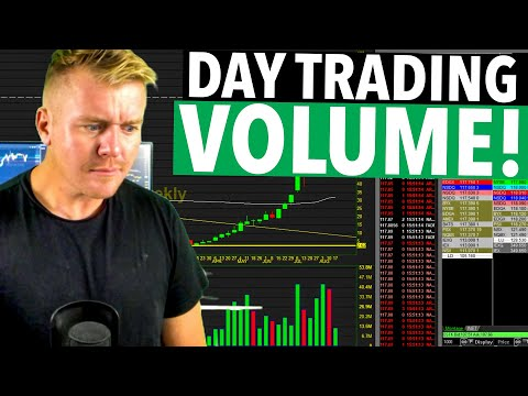 DAY TRADING VOLUME EXPLAINED! IT'S IMPORTANT....