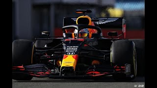 F1 2020 - Red Bull RB16 on track at Silverstone with Max Verstappen & Alex Albon