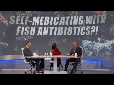 Self-Medicating With Fish Antibiotics?
