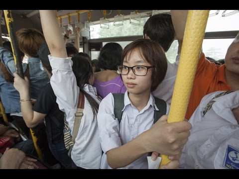 Safer buses for girls in Vietnam on YouTube