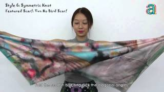 10 creative ways to tie a silk scarf