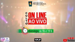 ((( CULTO AO VIVO - DOMINGO MANHÃ - 24/05/2020 )))