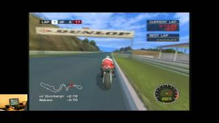 Lets Play Moto GP 2 Ultimate Racing Technology For The Xbox   Classic Retro Game Room