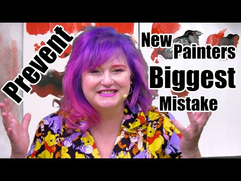 How To Load A Brush You Can Prevent New Acrylic Painters Biggest Mistakes  #20 | TheArtSherpa