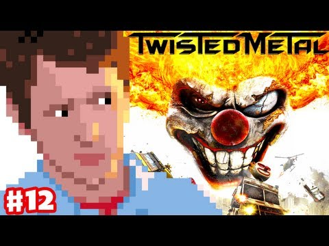 Twisted Metal - Part 12 - Iron Maiden Battle and Mr. Grimm Ending
