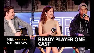 'Ready Player One' Cast Interview at SXSW | IMDb EXCLUSIVE