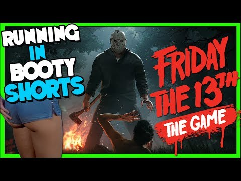 Running Away from Jason in Booty Shorts! Friday the 13th!