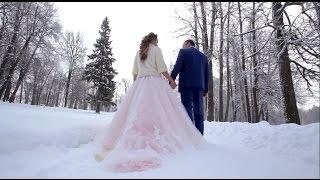 Зимняя свадьба в Сергиевом Посаде. Видеограф Виктор Васяков