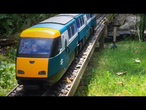 A British outline, G-scale, garden railway