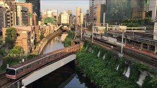 【まるのうちせん】東京メトロ丸ノ内線 02系@淡路町〜御茶ノ水