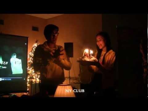 [NY CLUB:Fancam] Happy Birthday to Nadech in Lay's Party in LA 17/12/12