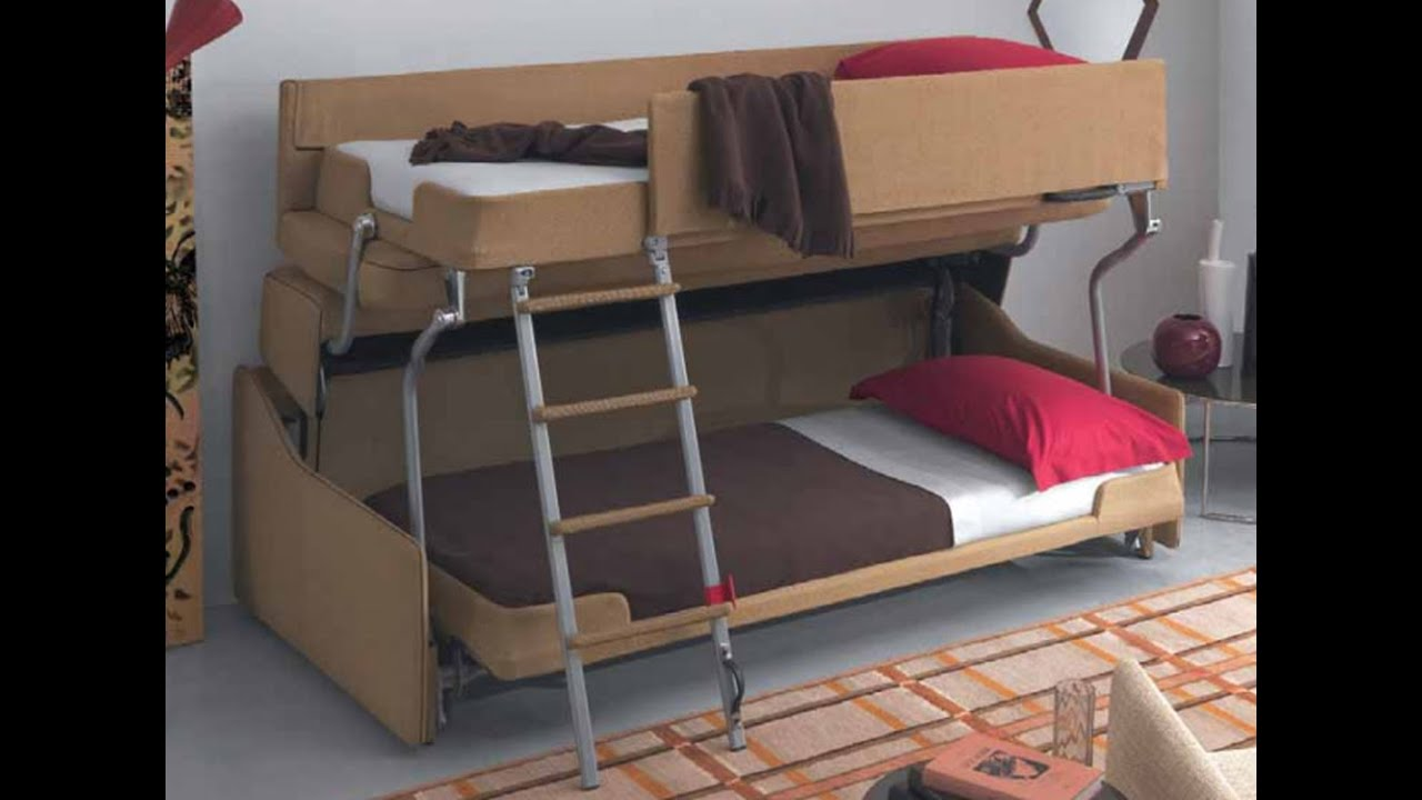 Sofa bunk bed sofa bunk bed convertible youtube Bunk bed couch convertible