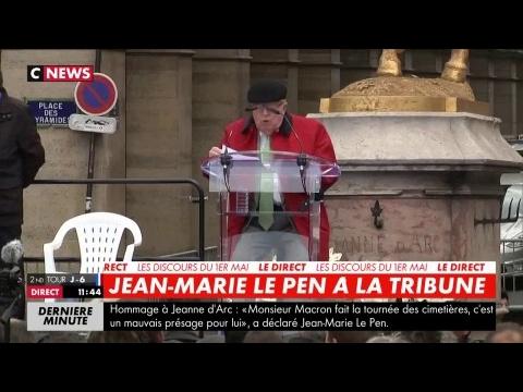 """Jean-Marie Le Pen : """"Combien d'étrangers sont-ils ainsi entrés chez nous depuis 40 ans ?"""""""