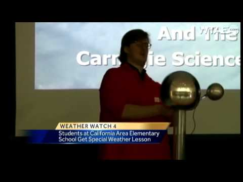 Weather Watch 4 School Visit: California Area Elementary School