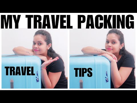 WHAT DID I PACK FOR MY TRAVEL || TRAVEL TIPS || TRAVEL ORGANISERS || AUSTRALIA TRIP PACKING ||