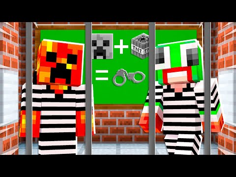 So I Sent Baby Preston to Prison School...  Minecraft