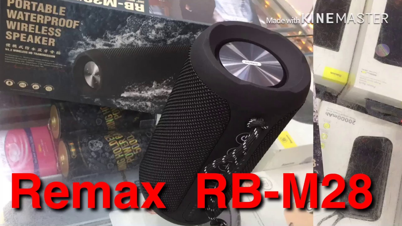 Remax M28 Outdoor Bluetooth Speaker Unboxing Review Bangla In Dhaka Price 3000tk ক ন ন Youtube