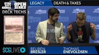 SCGMA: Deck Tech - Death & Taxes with Thomas Enevoldsen
