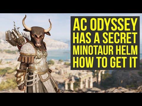 Assassin S Creed Odyssey Secret Armor Minotaur Helm How To Get
