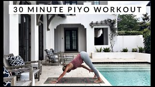 30 Minute Piyo Workout