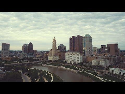 Columbus, Ohio Aerial Tour 4K