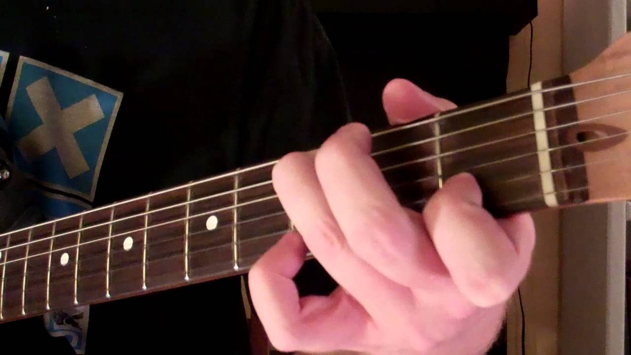 How To Play The Csus2 Chord On Guitar Suspended Chord Youtube