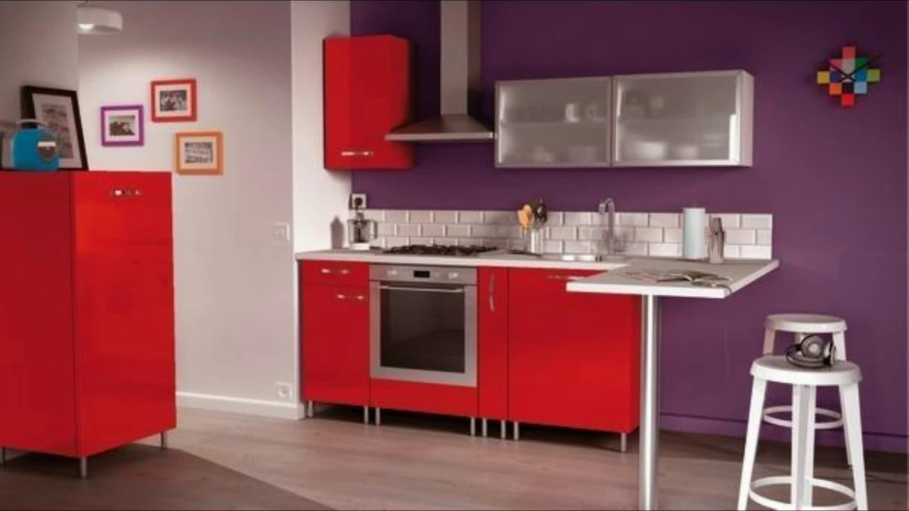 meuble de cuisine en kit brico depot youtube. Black Bedroom Furniture Sets. Home Design Ideas