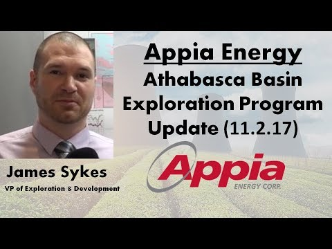 Appia Energy Update with James Sykes (VP of Exploration & Development)