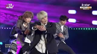 171119 NCT 127 - 無限的我 (무한적아;Limitless) + Cherry Bomb @ K-Star Live Power Music