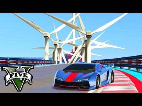 GTA V Online: O TUBO MODIFICADO com muito OBSTÁCULOS!!! #85