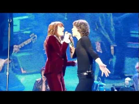 The Rolling Stones - Gimme Shelter -  Florence Welch - London 02 Arena - 29/11/2012