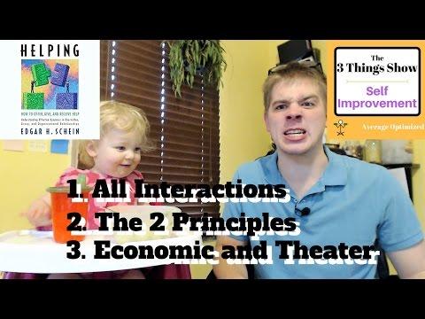 Helping by Edgar H. Schein - 3 Big Ideas