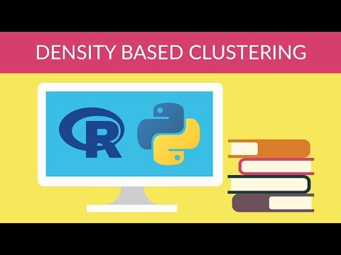 Machine Learning With Python - Unsupervised Learning - Density Based Clustering