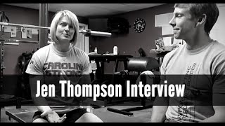 Jen Thompson Interview | Breaking Bench Press Records & Powerlifting Advice
