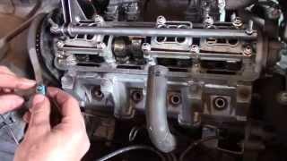 видео Регулировка клапанов автомобиля.