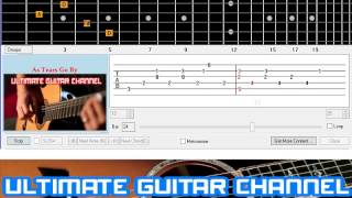 [Guitar Solo Tab] As Tears Go By (The Rolling Stones)