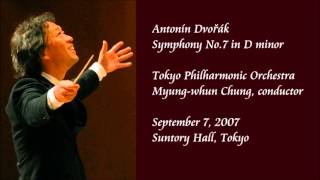 Dvořák: Symphony No.7 in D minor - Chung / Tokyo Philharmonic Orchestra