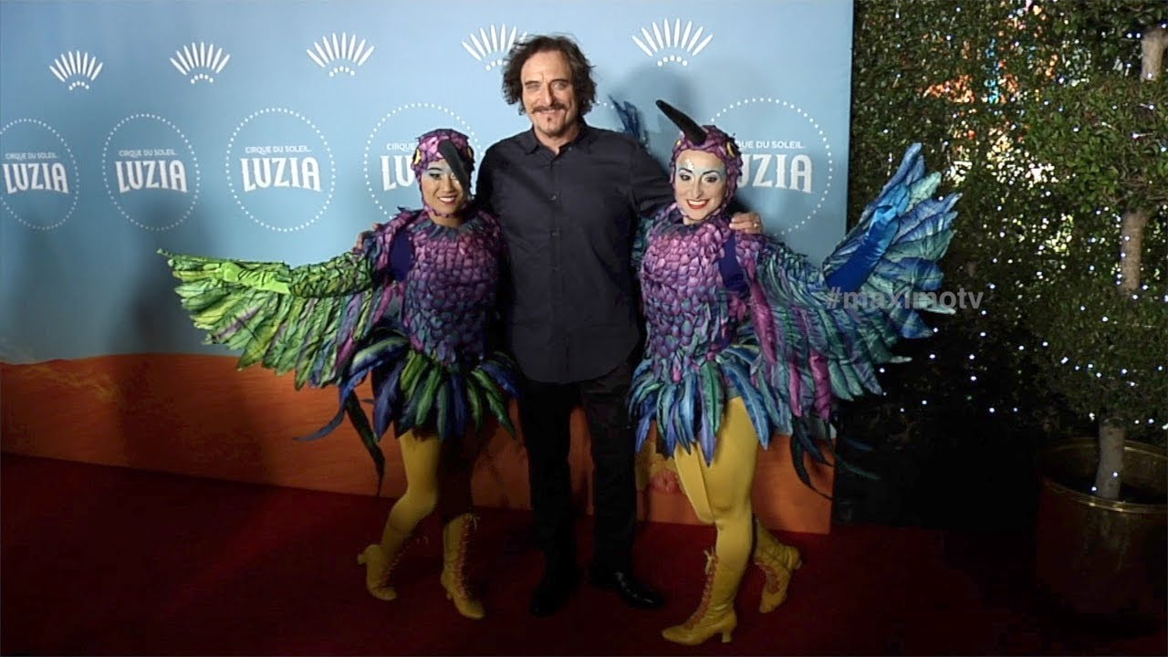 Kim Coates  Cirque du Soleilu0027s LUZIA  Los Angeles Premiere Red Carpet  sc 1 st  YouTube & Kim Coates