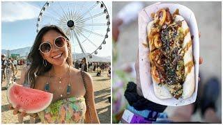 WHAT I EAT IN A DAY VEGAN | COACHELLA