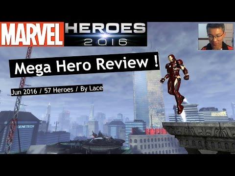 Marvel Heroes: 57 Heroes Mega Review