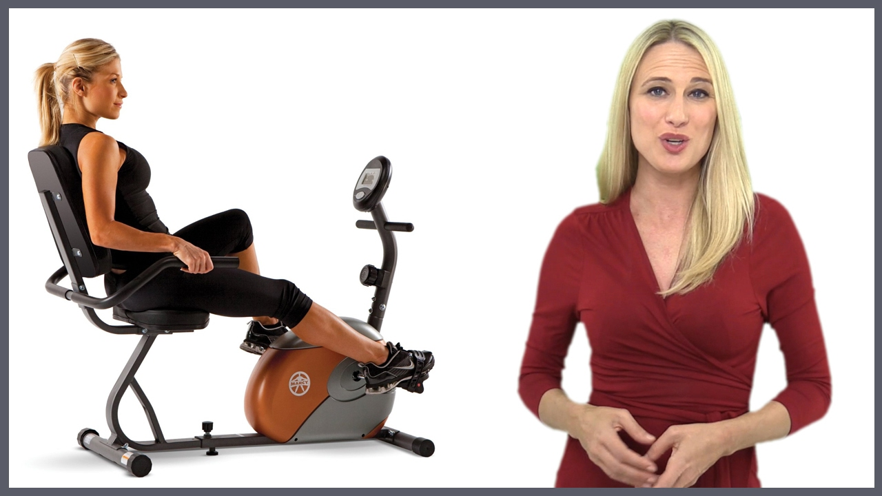 Marcy me709 recumbent exercise bike review youtube.