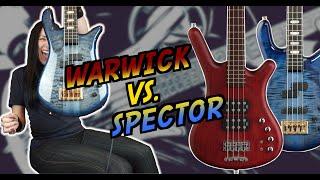 Warwick vs. Spector   German Pro Series Corvette $$ and Euro4 LT