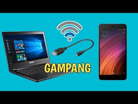 Cara Menyambungkan Hotspot HP Ke Laptop.