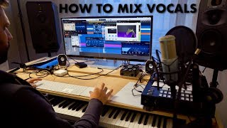 HOW TO MIX TUTORIAL #3 - Vocal editing & compression